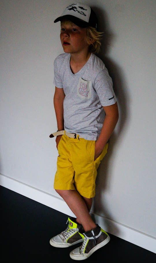 Cool, Easy Summer Style for a Boy