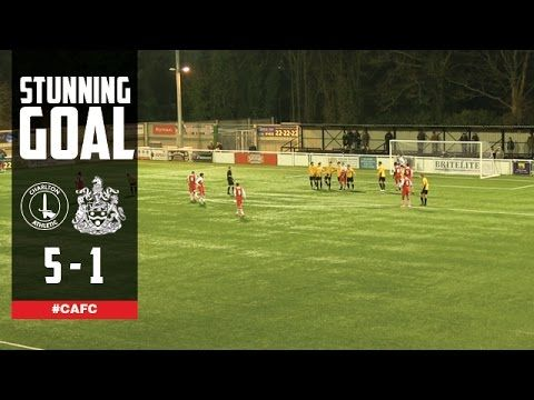 STUNNING GOAL: Oliver Muldoon Vs Maidstone United - Charlton Athletic