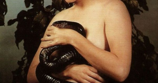 Paul Outerbridge, Woman with Snake, 1938