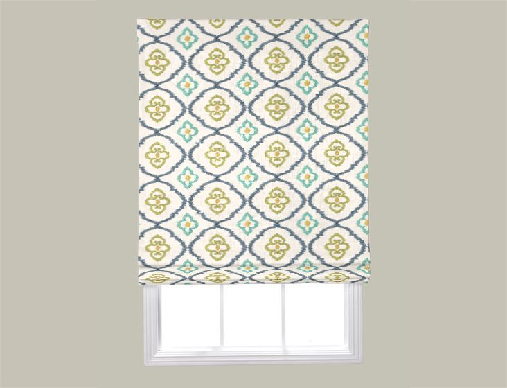42 best aftershocks window treatments images on for Fabric shades for kitchen windows