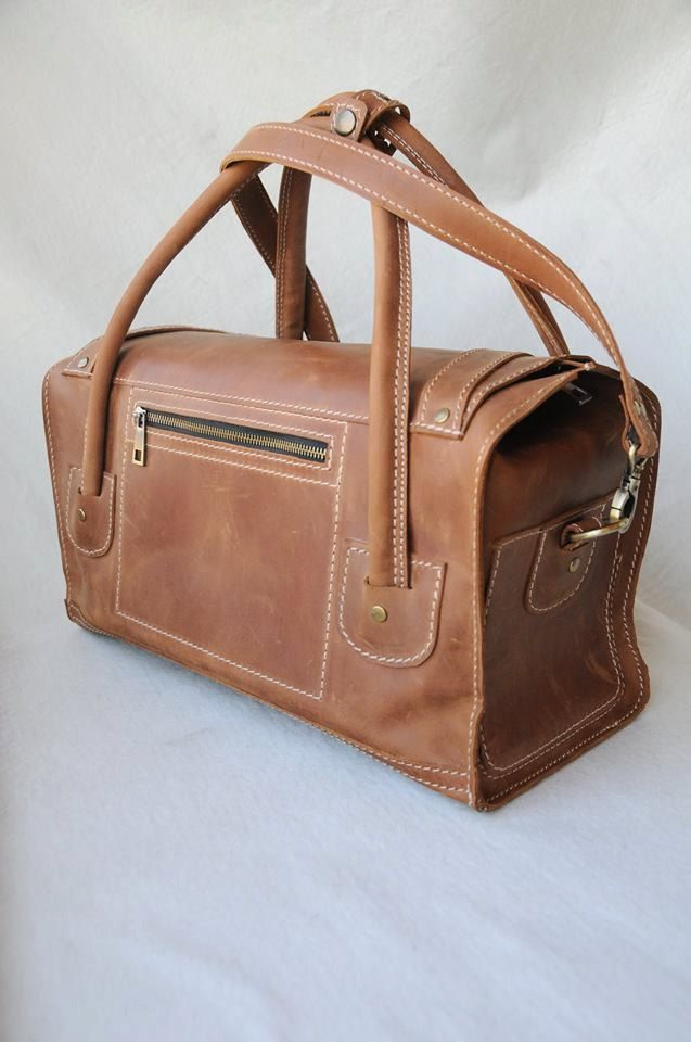 Leather Travel Bag Duffle Weekend Gym Bags For Men Luggage