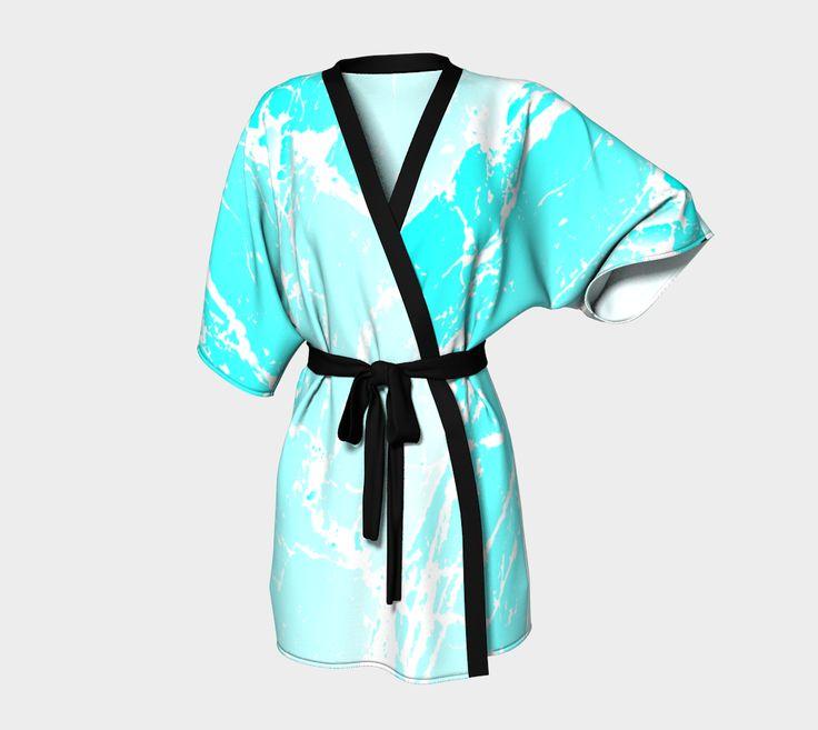 "Kimono+Robe+""Cracked+Ice+Kimono+Robe""+by+Steel+Graphics"