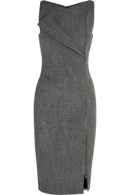 Jessica Pearson's Antonio Berardi Alpaca Blend Dress o#SuitsUSA #TVFashion