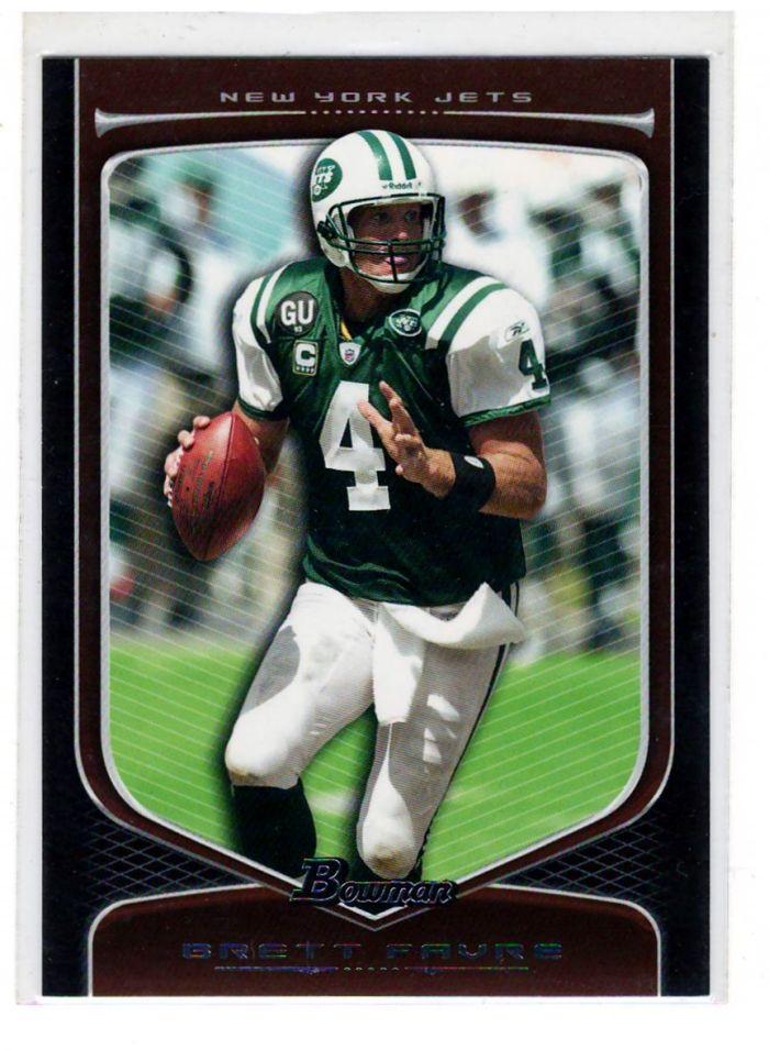 Brett Favre Sports Cards Nfl Trading Cards 500