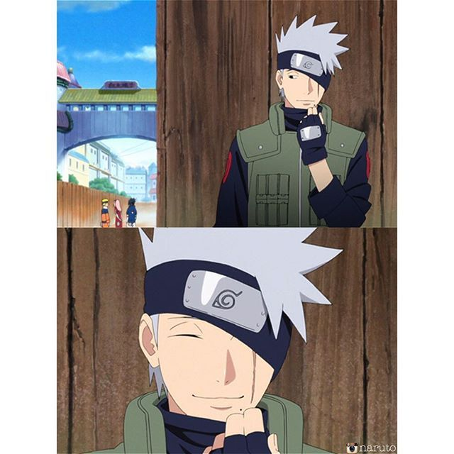finallyyy @kakashi this is not a drill, I repeat this not a fanart or edit this is legit from the latest episode!!!