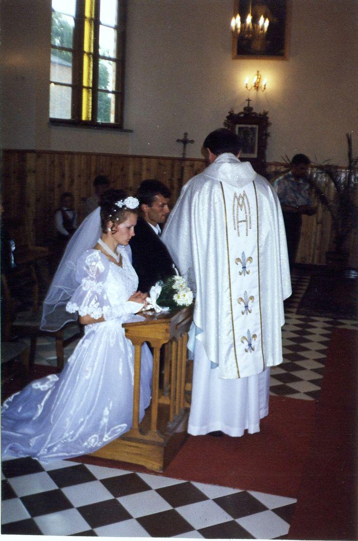 17 lipca 1999  ślub Anny Skoczylas z Arturem Litomskim w Nadrybiu