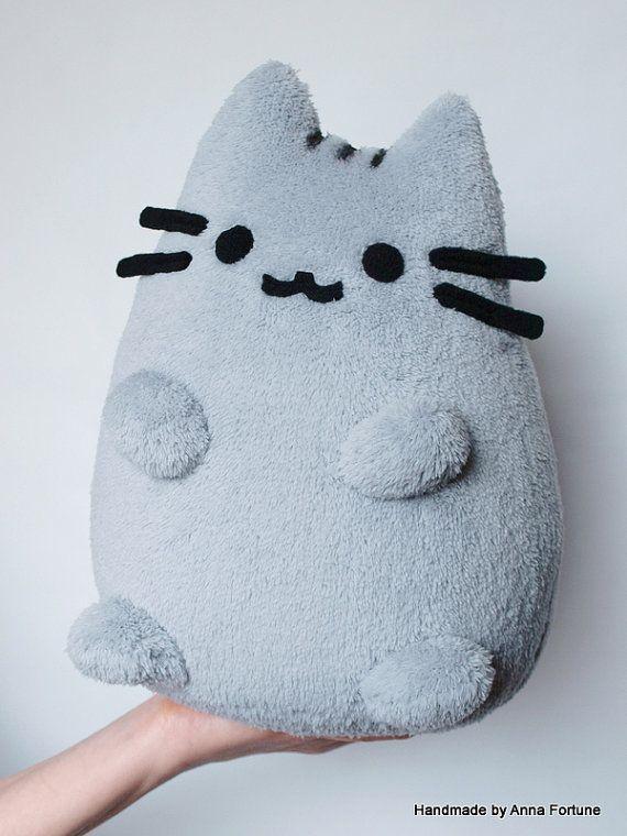 Pusheen The Cat Handmade Plush Toy on Etsy, $38.57