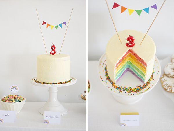 Rainbow party - Fiesta arcoíris