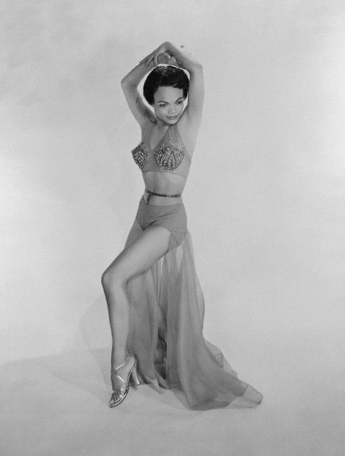 Eartha Kitt, 1954.