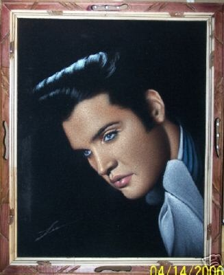 For the record, I wanted a velvet Elvis painting decades ago, long before they acquired any kitschy nostalgia value.