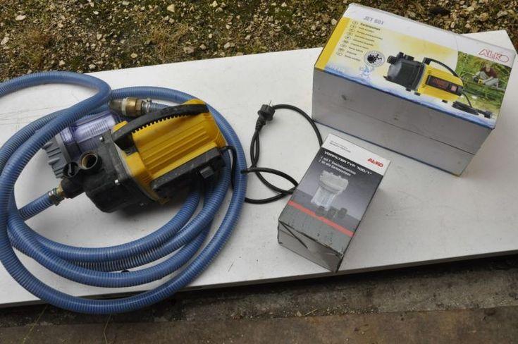 Pompe d'arrosage de surface 600W JET 601 AL-KO3100 l-h - 3.5 bar  pour eaux claires ( pas d'eaux chargées)H max : 35 mSH max (voir schéma) : 9 ms'utilise :- Pour évacuer ou rediriger l'eau potable, l'eau d'une marre, l'eau de pluie ou l'eau de la piscine.- Pour l'irrigation ou l'arrosage du gazon ou des parterres.- Pour augmenter la pression de votre arrosage automatique, de vos douches de jardin, de vos pulvérisateurs ou douchettes, etc.Avec - conduit de 7 m et crépine- filtre à eau- si…