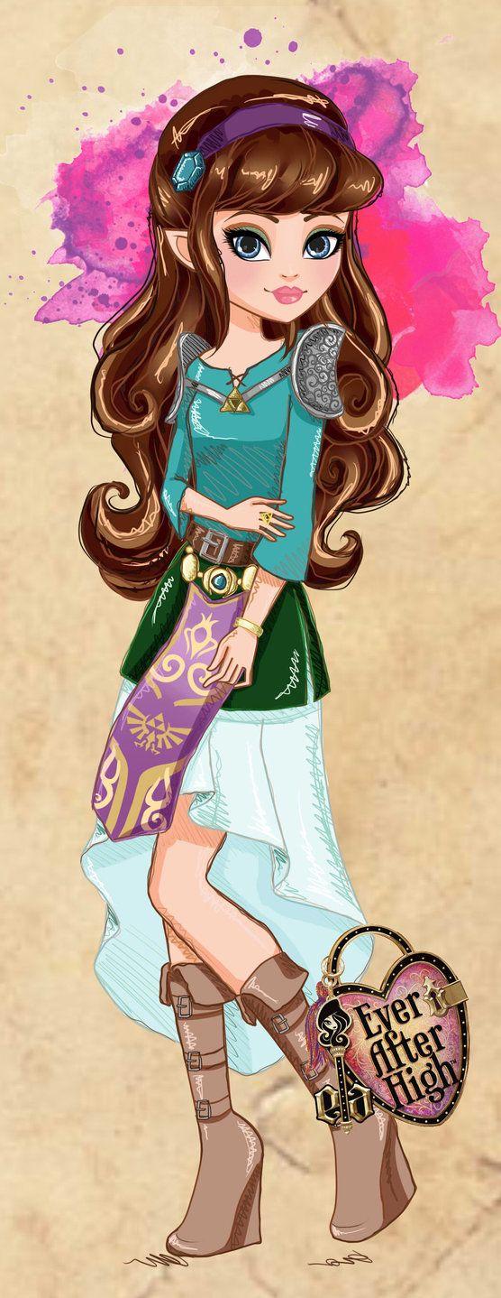 .:Ever After High:. Zelda Azalea by Airinreika