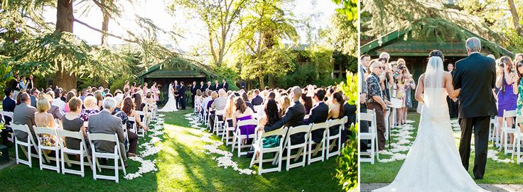 Wedding Garden Wine Roses Enjoy A Gorgeous Outdoor Ceremony This Setting