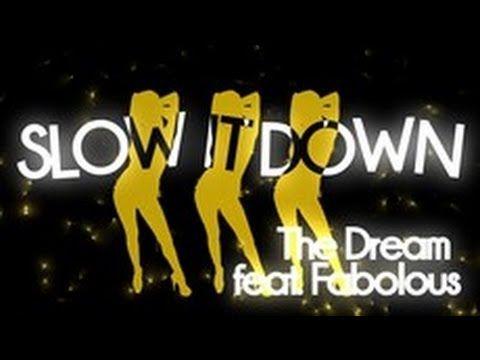 """""""Slow It Down"""" ft Fabolous - Lyric Video"""