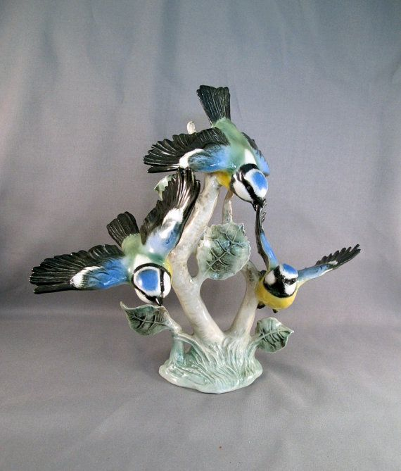 17 Best Images About Porcelain Bird Figurines On Pinterest