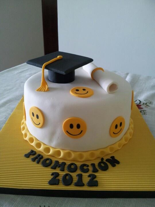 El dulce de graduacion...