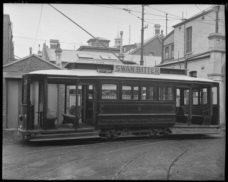 013516PD: Fremantle Municipal Tramways tram no.6, 1930?  http://encore.slwa.wa.gov.au/iii/encore/record/C__Rb2799470__S013516pd__Orightresult__U__X3?lang=eng&suite=def
