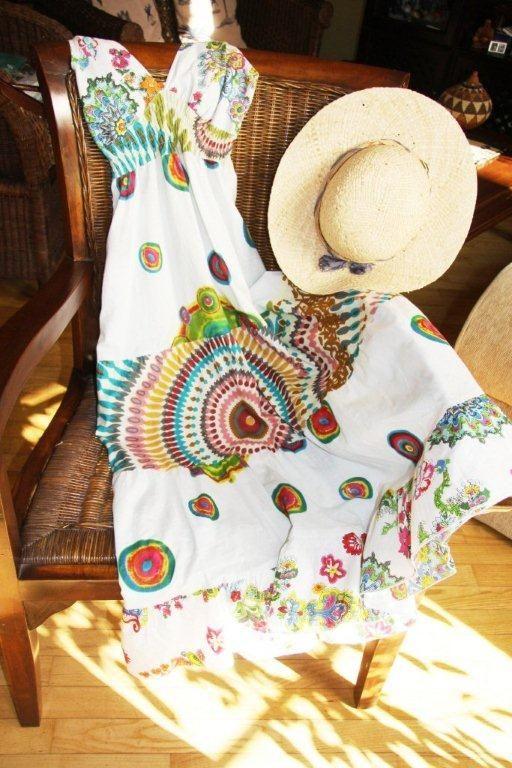 Malibu dress, packing!