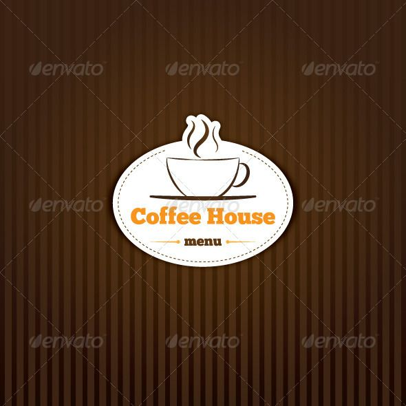 coffee background graphicriver coffee background vector vintage background with amblem coffee cup image contains