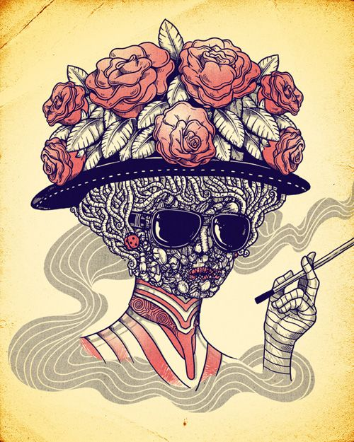 Inspiration - The Work of Illustrator Alex Solis | Think Design