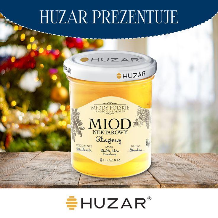 Delikatny w smaku ulubieniec dzieci 👶 Miód akacjowy zbierany z najpiękniejszych i najbardziej aromatycznych Polskich akacji 🌳