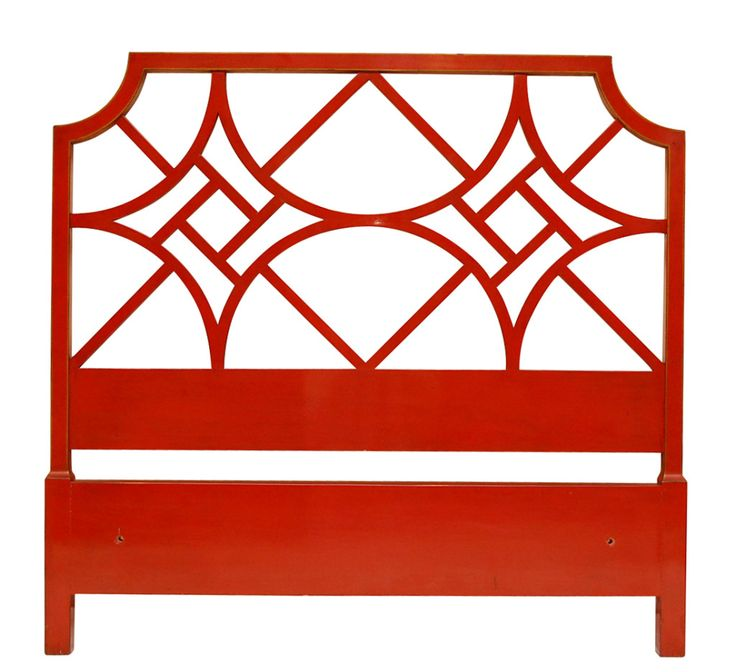 Smith & Watson Chinese Chippendale Fretwork Headboard