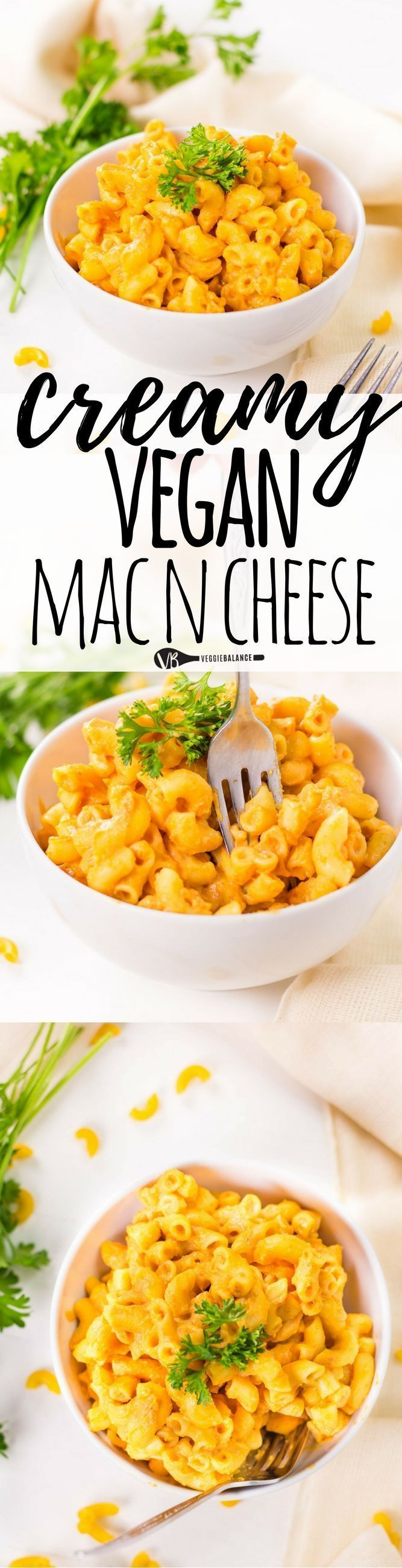 Creamy Vegan Mac and Cheese (Dairy-Free) - vegan mac and cheese recipe made with all-natural ingredients! in no time you'll have healthy and homemade vegan mac and cheese hot and ready. (gluten free, dairy free, vegan)