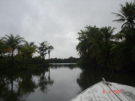 Passeio de voadeira pelo Rio Preguiças.