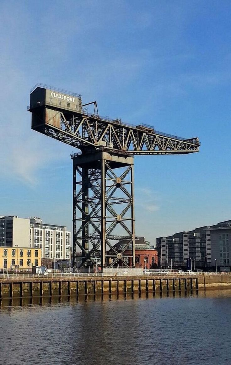 The Finnieston Crane in Glasgow is a symbol of the city's engineering heritage