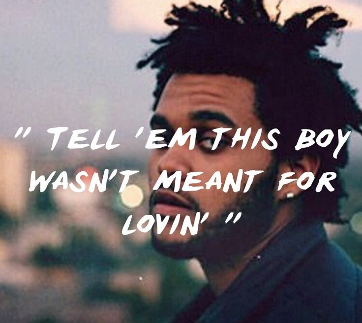 Real Life - The Weeknd  Lyrics