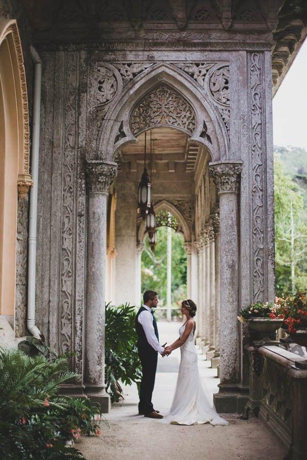 Adorable Portuguese Picnic Wedding Monserrate Palace. Destination wedding in Por…