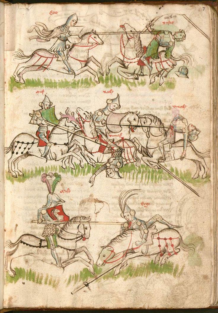 Thomasin : Der welsche Gast Schwaben, 3. Viertel 15. Jh. Cgm 571  Folio 19