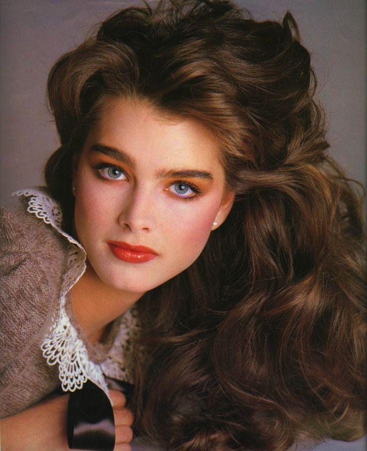 Pin Von Raphael Aguiar Auf 80s Makeup 80er Frisuren Haar Styling Lange Braune Haare