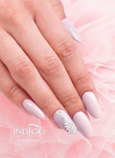 Paulina Walaszczyk, Follow us on Pinterest. Find more inspiration at www.indigo-nails.com #nailart #nails #indigo #sugar #effect #ombre
