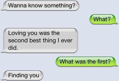 Most beautiful texting conversation i've ever seen :)