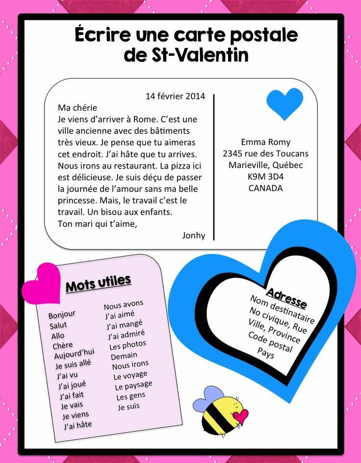 FREE FRENCH // Écrire pour la St-Valentin