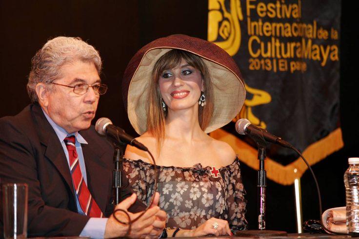 Filippa Giordano, admiradora de la cultura maya
