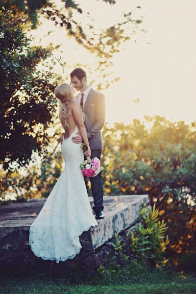 Katie May Poipu Gown: Featured on Style Me Pretty. Photo courtesy of Tamiz Photography.