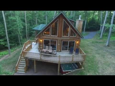 New Deep Creek Lake Log Home Close to Resort... - VRBO