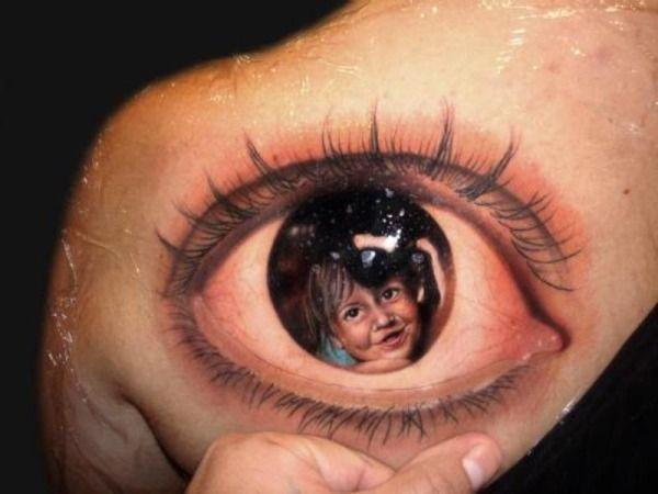 Fantastiske 3D tatoveringer