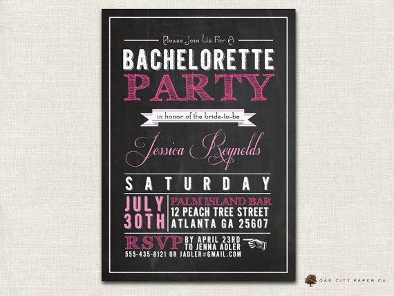 Best Images About Bachelorette Party Invitations On