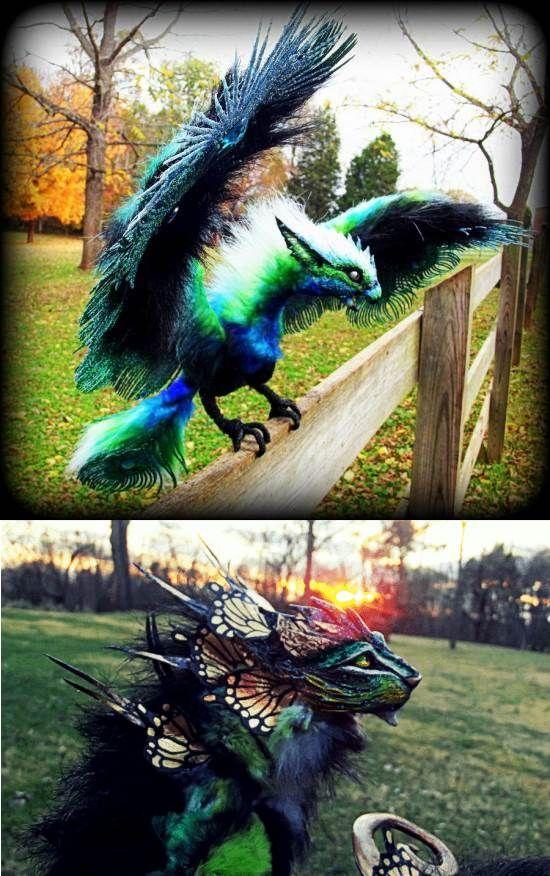 Imaginary Woodland Fantasy Creatures, Wood Splitter Lee   Strange Pictures, Videos & Weird News Stories - Strange Or What