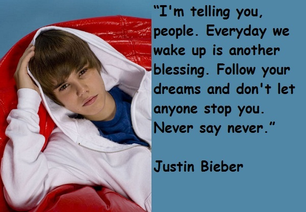 17 Best Images About Justin Bieber Quotes