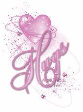 Purple Kisses and Hugs GIF | Graphics » Kisses hugs Graphics