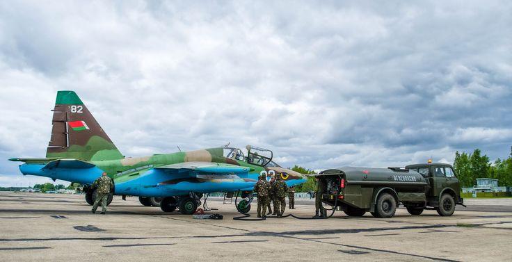 Су-25 подготовка к вылету