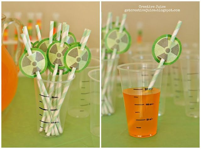 {science party} FAVORS & DECORATIONS & COSTUMES - Creative Juice