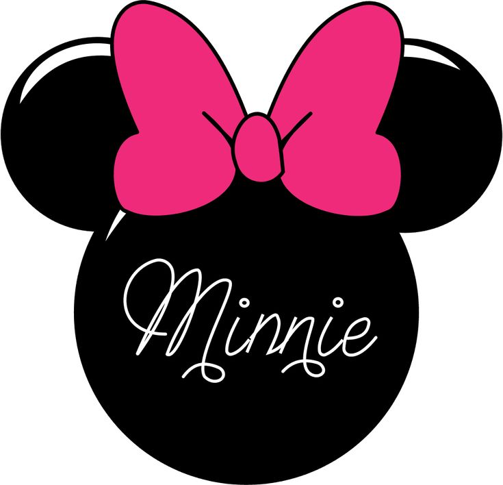 minnie bow pink - Google Search