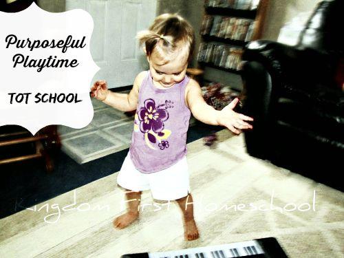 Purposeful Play~Tot School~Instruments