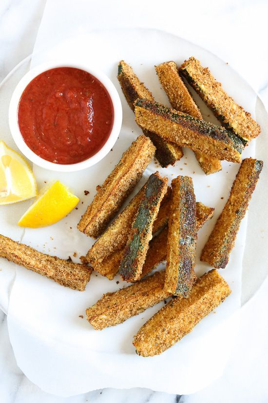 Baked Zucchini Sticks | Skinnytaste | Bloglovin'