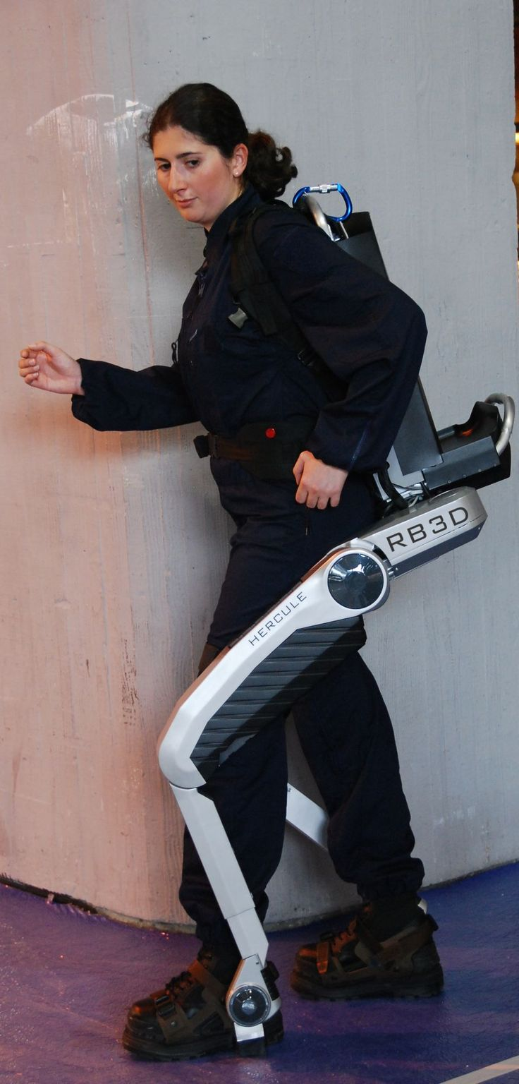 Hercule Exoskeleton by RB3D